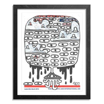 UFO907 Original Art - Postal Slap - 135