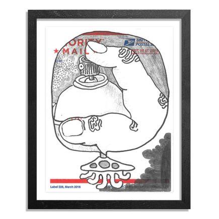 UFO907 Original Art - Postal Slap - 137