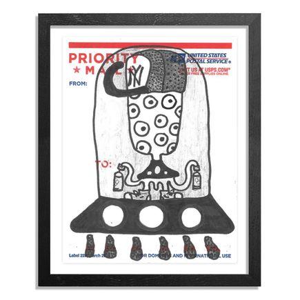 UFO907 Original Art - Postal Slap - 144