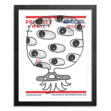 UFO907 Original Art - Postal Slap - 189