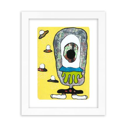 UFO907 Original Art - Street Aliens - 215