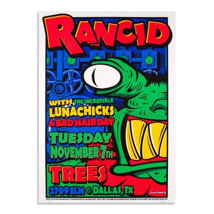 Uncle Charlie Art - Rancid - November 7th, 1995 at Trees