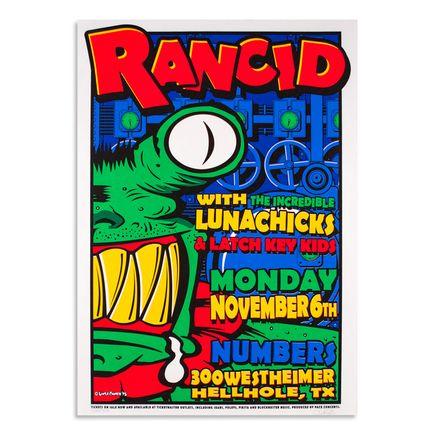 Uncle Charlie Art - Rancid - Novemember 6th, 1995 at Numbers