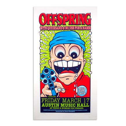 Uncle Charlie Art - The Offspring - March 17th, 1995 at Austin Music Hall