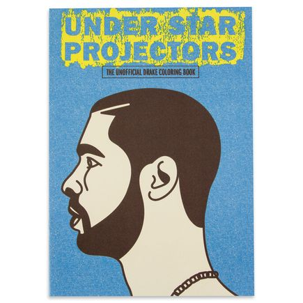 Sugoi Books Book - Under Star Projectors:  Drake Unofficial Coloring Book