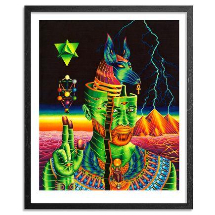 Vedran Misic Art Print - Anubis Rising