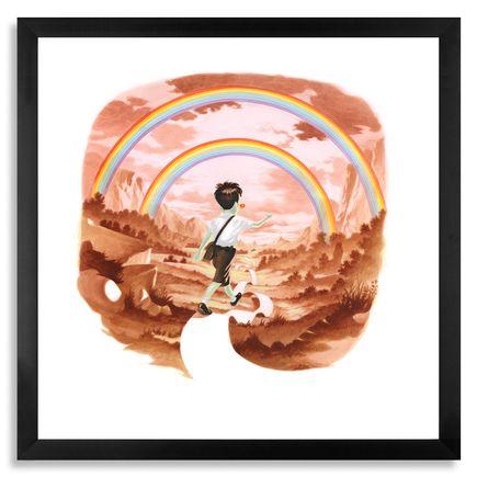 Victor Castillo Art - Flying High - Framed