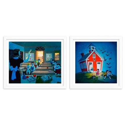 Victor Castillo Art Print - 2-Print Set - The Magic Spell of the Bell + Stay Away