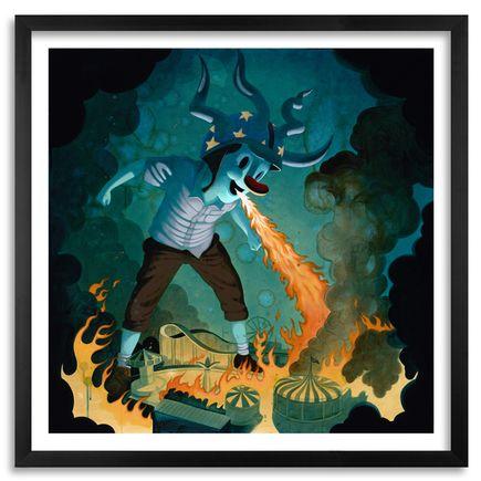 Victor Castillo Art Print - No More Fantasies