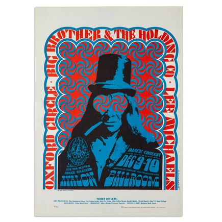Victor Moscoso Art - Oxford Circus, Big Brother and the Holding Company