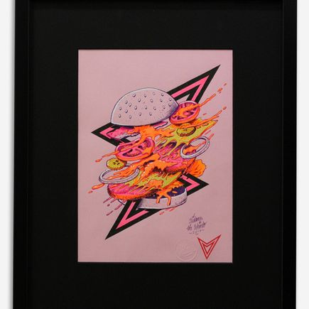 Vidam Original Art - Burger