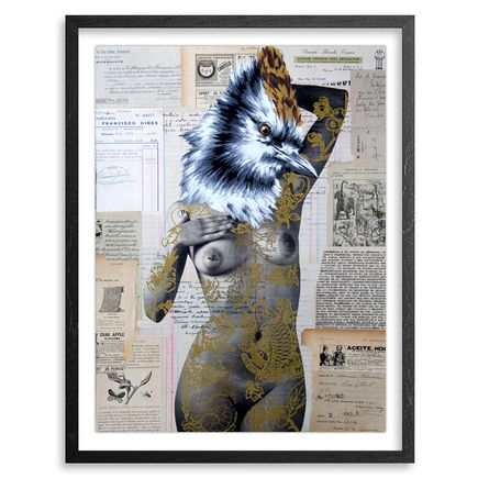 Vinz Hand-painted Multiple - The Tattooed Girl - Especial Edition 10 - Mixed Media Multiple