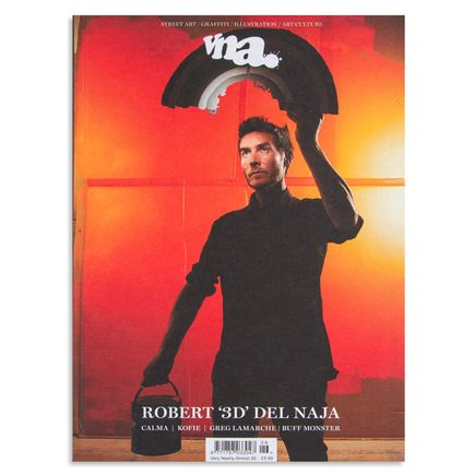 vna Magazine Book - Issue 26: Robert '3D' Del Naja