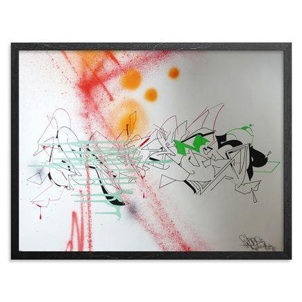 Wane Original Art - Kaotic Formz - Original Artwork
