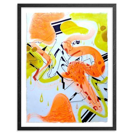 Wane Original Art - Organized Confusion - Original Artwork