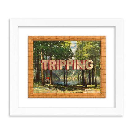 Wayne White Art Print - Tripping - Blotter Edition