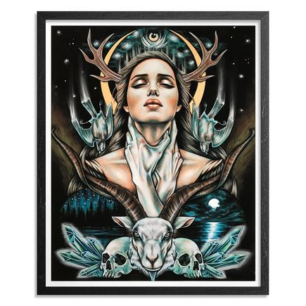 Wendy Ortiz Art Print - All That's To Come - Hand-Embellished Edition