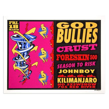 Lee Bolton Art - God Bullies - Mar. 18th 1993 at the Kilimanjaro Austin, TX
