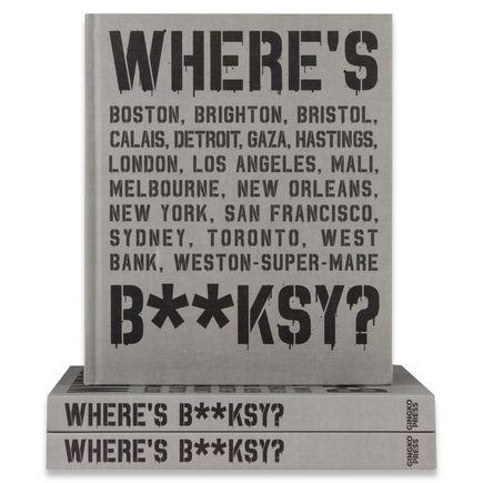 Xavier Tapies Book - Where's Banksy?