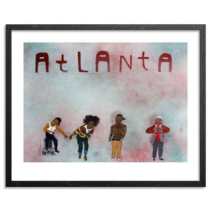Yarrow Slaps Art Print - Atlanta