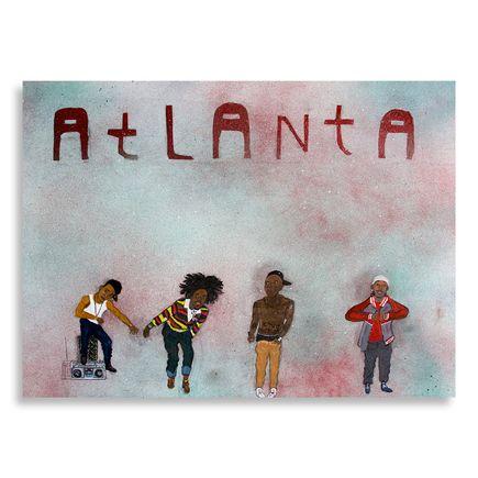 Yarrow Slaps Original Art - Atlanta - Original Artwork