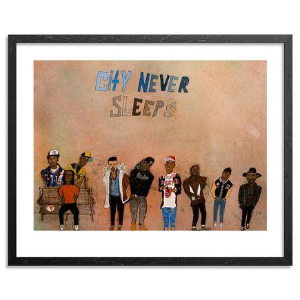 Yarrow Slaps Art Print - City Never Sleeps