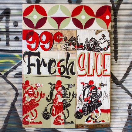 Sheryo & The Yok Original Art - Fresh Brooklyn Slice