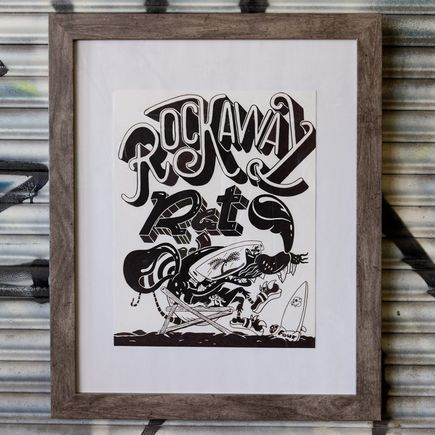 Sheryo & The Yok Original Art - Rockaway Rat