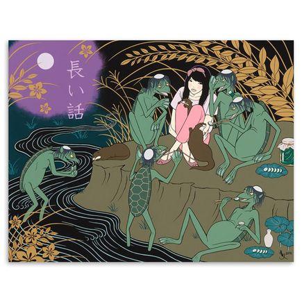 Yumiko Kayukawa Original Art - A Long Story - Original Painting