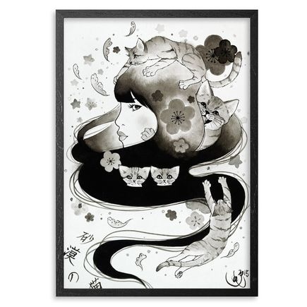 Yumiko Kayukawa Original Art - Sand Cat - Original Artwork