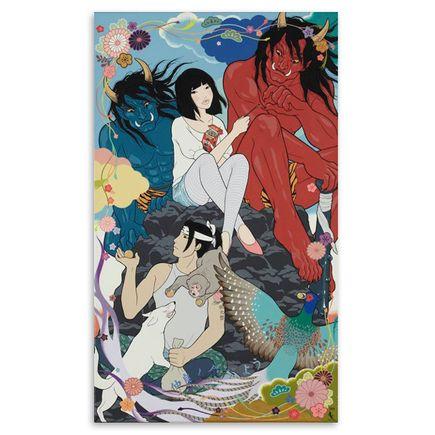 Yumiko Kayukawa Original Art - Sharing - Original Painting