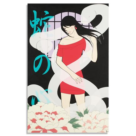 Yumiko Kayukawa Original Art - Snake Mind - Original Artwork