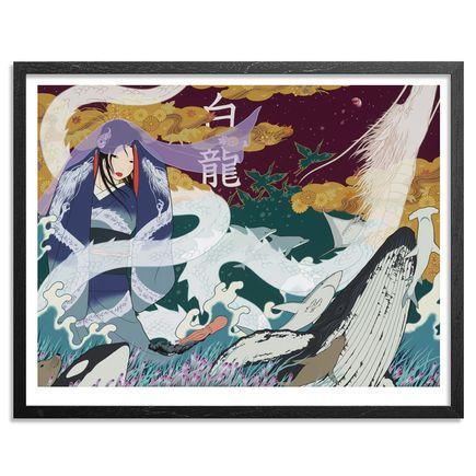 Yumiko Kayukawa Art Print - White Dragon - Limited Edition Prints
