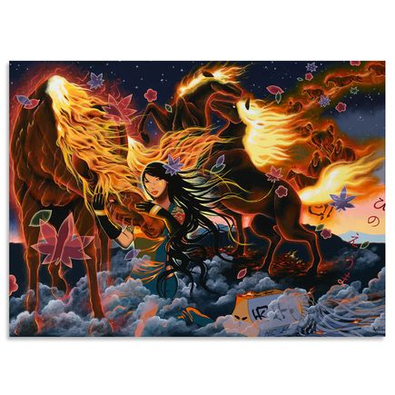 Yumiko Kayukawa Original Art - Year of the Fire Horse - Original Artwork