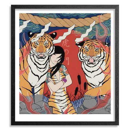 Yumiko Kayukawa Art - Tiger Gate - Standard Edition - Framed