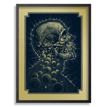 Zeb Love Art - New Age - Gold Edition - Framed