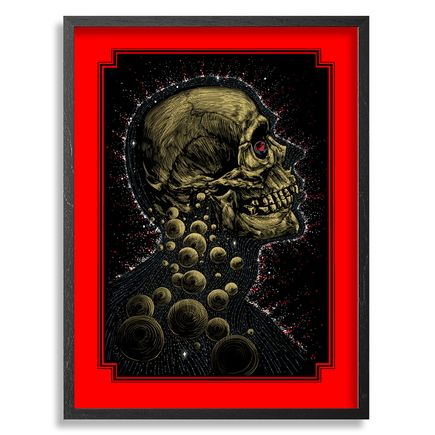 Zeb Love Art Print - New Age - Red Edition