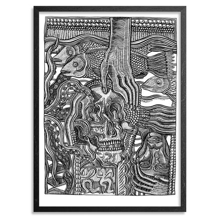 Zio Ziegler Art - Transience And The Tempest - Framed