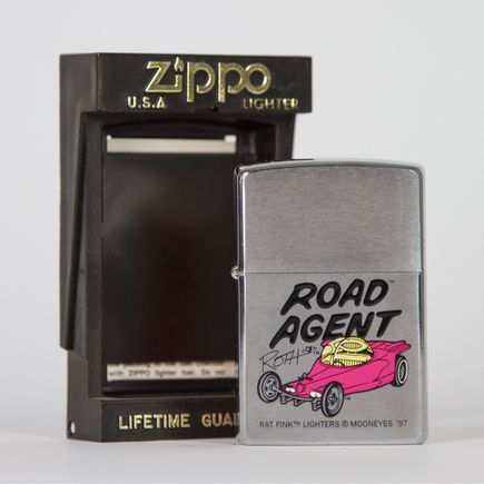 Zippo Art - Ed Roth - Road Agent Lighter