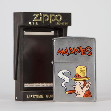 Zippo Art - Tony Millionaire - Maakies Lighter