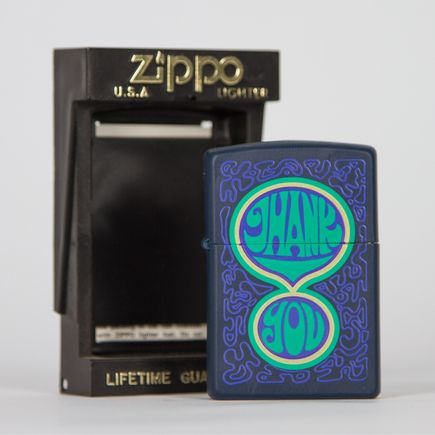 Zippo Art - Thank You Lighter