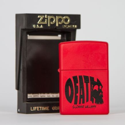 Zippo Art - Suzanne Williams - Death Lighter