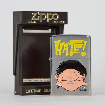 Zippo Art - Peter Bagge - Hate Lighter 02