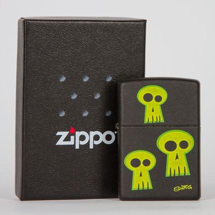 Zippo Art - Shag - Skulls Lighter
