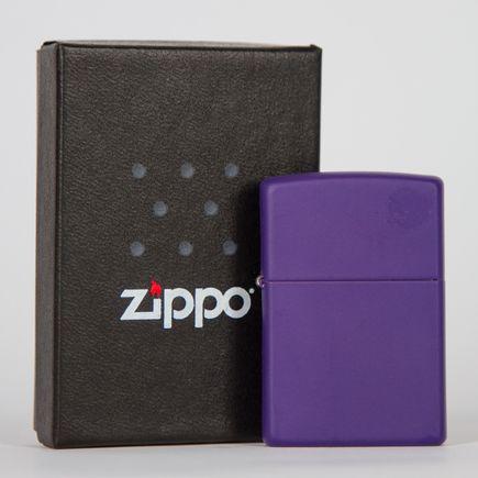 Zippo Art - Purple Lighter