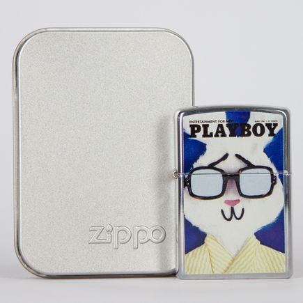 Zippo Art - Playboy Cover June, 1967 Lighter