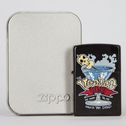 Zippo Art - The Voodoo Lounge Lighter
