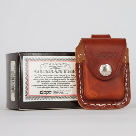 Zippo Art - Genuine Leather Lighter Pouch